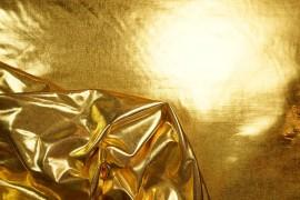 Lama gładka w kolorze złotym