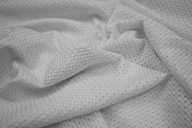 Bawełna haftowana w kolorze białym