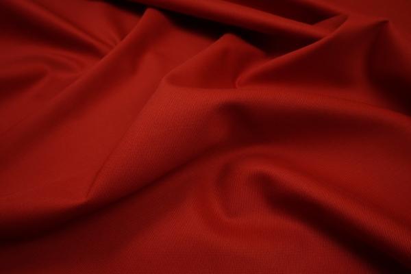 Bawełna trudnopalna w kolorze czerwonym