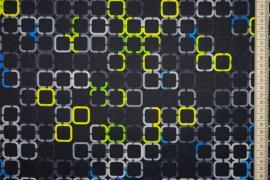 Tkanina ogrodowa wodoodporna - kolorowe kwadraty