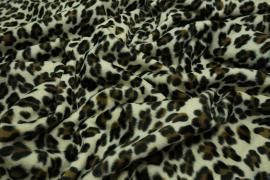 Welur w gepardzie cętki