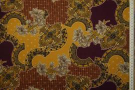 Tkanina sukienkowa - marokański wzór