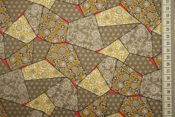 Bawełna drukowana - wzór geometryczny