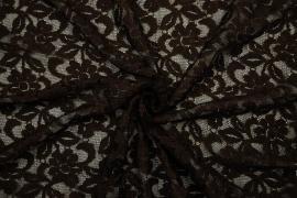 Koronka - kolor brązowy