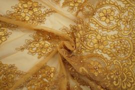Gipiura w kolorze złotym