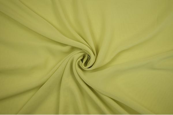 Szyfon w kolorze bananowym