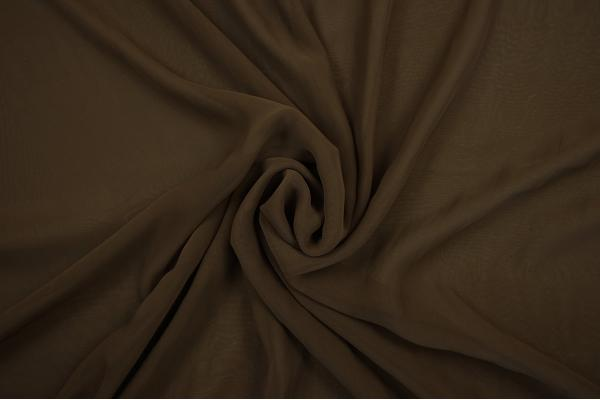 Szyfon w kolorze brązowym