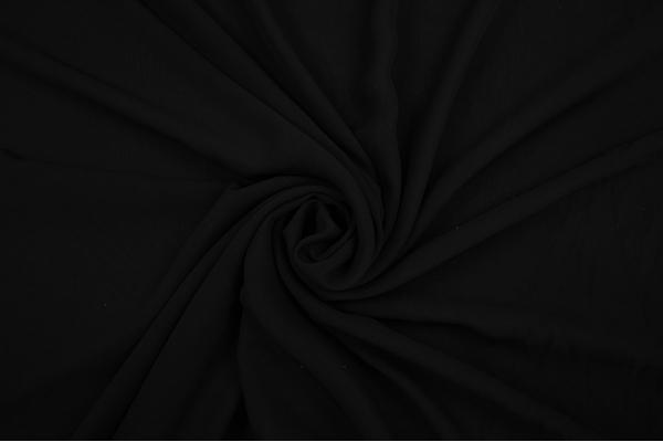 Szyfon w kolorze czarnym