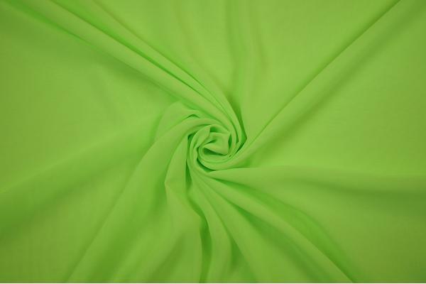 Szyfon w kolorze intensywnej zieleni