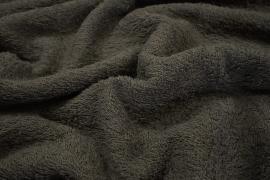Bawełna frota / frotte w kolorze szarym
