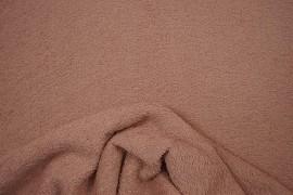 Bawełna frota / frotte w kolorze brudny róż