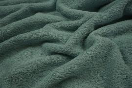 Bawełna frota / frotte w kolorze ciemna mięta