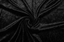 Welur w kolorze czarnym