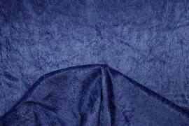 Welur w kolorze niebieskim