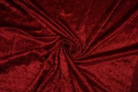 Welur w kolorze krwistoczerwonym