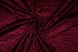 Welur w kolorze bordowym