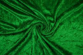 Welur w kolorze zielonym