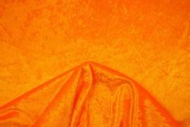 Welur w kolorze jasnopomarańczowym