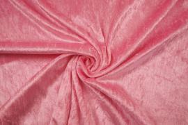 Welur w kolorze różowym