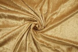 Welur w kolorze złotym