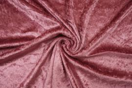 Welur w kolorze brudnego różu