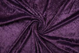 Welur w kolorze fioletowym