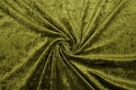 Welur w kolorze oliwkowym