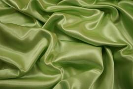 Satyna jedwabna w kolorze pistacjowym