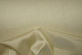 Satyna żorżeta w kolorze waniliowym