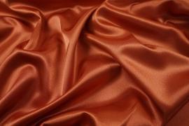 Satyna żorżeta w kolorze rudym