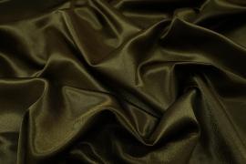 Satyna żorżeta w kolorze khaki