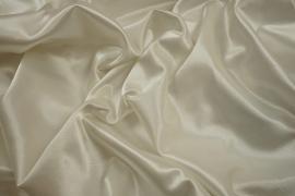 Satyna z lycrą - biały kolor