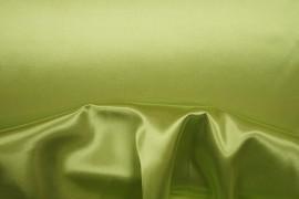 Satyna w kolorze groszkowym