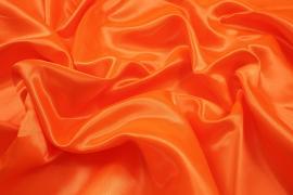 Satyna w kolorze intensywnie pomarańczowym