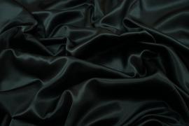 Satyna w kolorze ciemnego petrolu