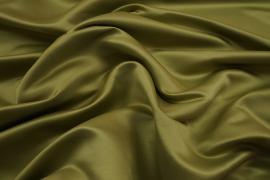 Satyna matowa w kolorze oliwkowym