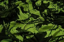 Tkanina kamuflażowa w kolorze seledynowym