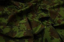 Tkanina kamuflażowa - kamuflaż zielono-brązowy rip-stop