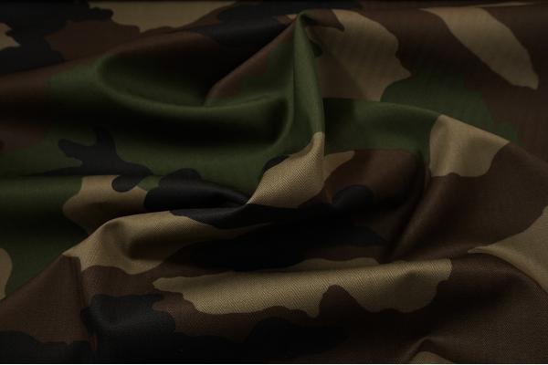 "Tkanina bawełniana we wzorze ""Woodland"""