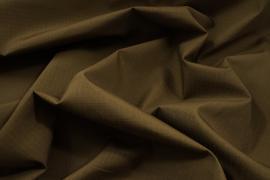 Tkanina kamuflażowa o splocie rip-stop w kolorze brązowym