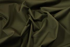 Tkanina bawełniana z dodatkiem lycry w kolorze khaki