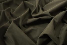 Tkanina poliestrowa w kolorze szarozielonym