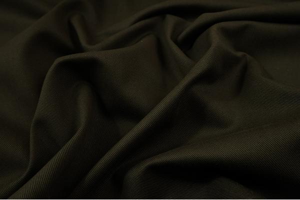 Tkanina bawełniana w kolorze ciemnego khaki