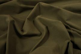 Tkanina bawełniana w kolorze oliwkowym