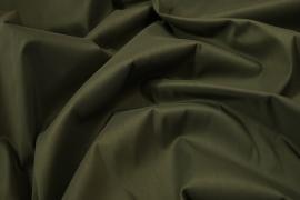 Tkanina bawełniana z dodatkiem lycry w kolorze jasnooliwkowym