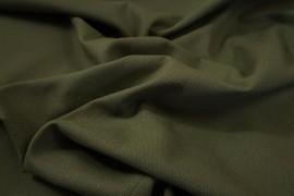 Bawełna panama w kolorze oliwkowym