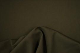 Bawełna panama w kolorze ciemnego khaki