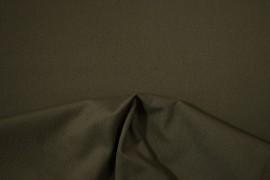 Bawełna panama w ciemnym kolorze khaki