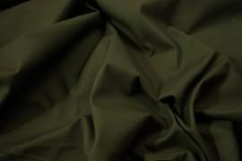 Bawełna panama z dodatkiem lycry w kolorze oliwkowym