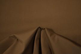 Bawełna panama z dodatkiem lycry w kolorze brązowym